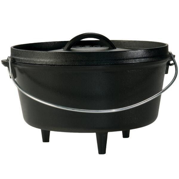 Lodge 5,67 Liter bål gryde (Dutch oven)